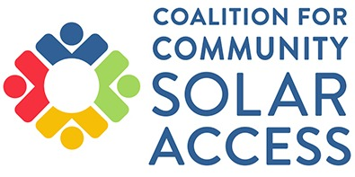 Logo for CCSA - Coalition for Community Solar Access