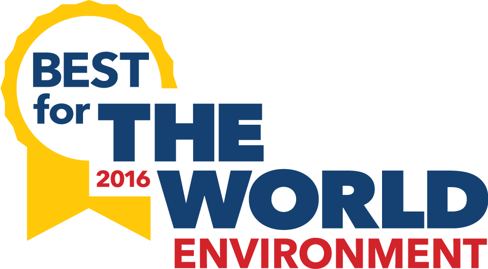 Logo for Best for the World - Environment - 2016