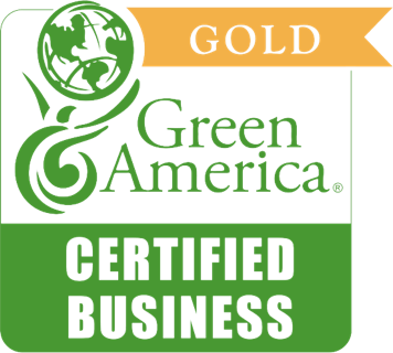 Gold - Green America Certified Business logo