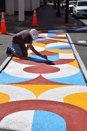GoldsboroEvent-sidewalkpainter