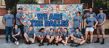OneMain Celebrates The Dalles' Upcoming Neon Sign Restoration Project