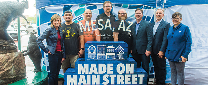 OneMain Celebrates HeatSync Labs With Its Final Made on Main Street Event of 2018