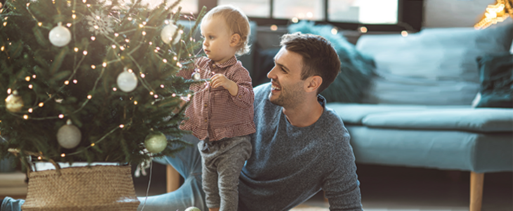 Turn Holiday Spirit Up & Keep Energy Costs Down