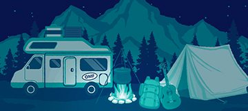 How to Go Camping on a Budget