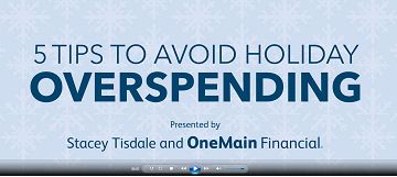 5 Tips to Avoid Holiday Overspending