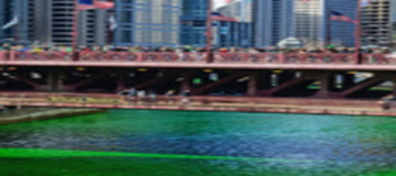 March 11: St. Patrick's Day River Dye and Parade in Chicago, IL
