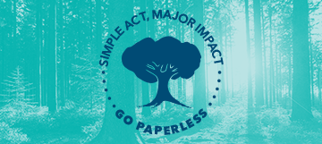 Celebrate Earth Day 2019 by Going Paperless and Saving Trees (Infographic)