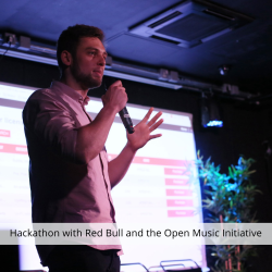 Hackathon with Red Bull and the Open Music Initiative