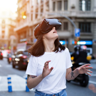 iStock Virtual Reality vr stad