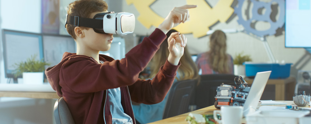 iStock virtual reality VR VR-bril educatie