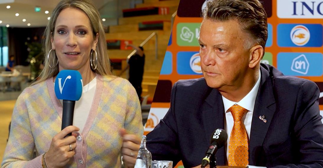 Louis van Gaal en Helene Hendriks