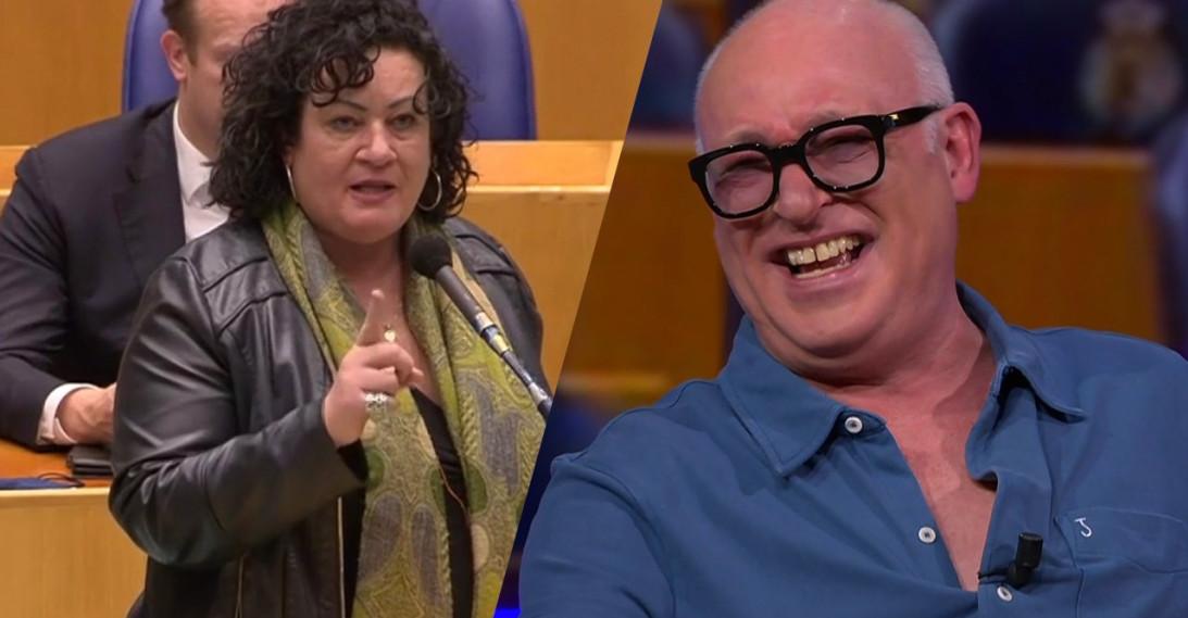 René krijgt slappe lach van BoerBurgerBeweging-leider
