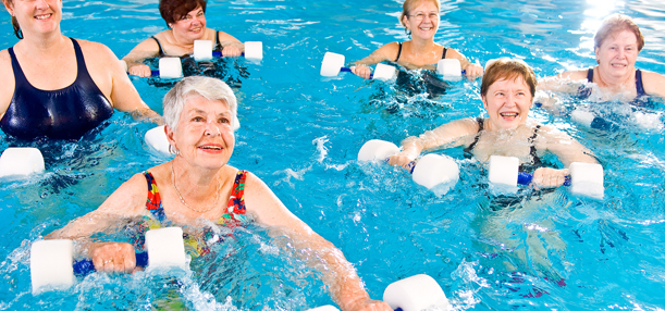 Fitness and Fun with Water Aerobics