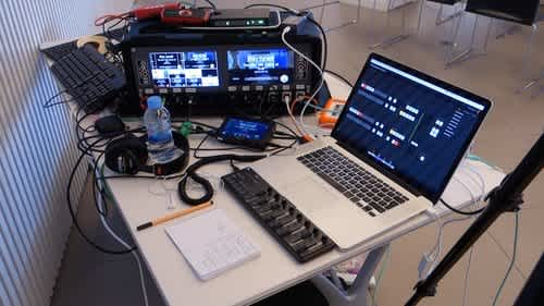Full conference recording setup - Live streaming and live editing gear