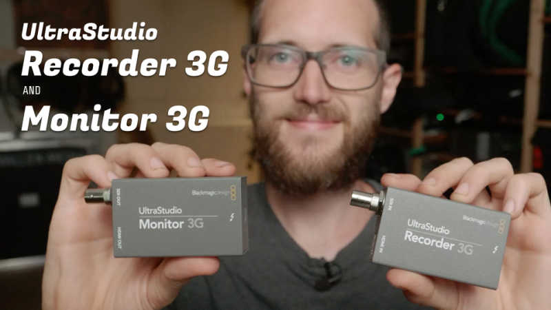 UltraStudio Recorder 3G and Monitor 3G - Hands on!