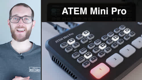 ATEM Mini Pro - First look at what's new