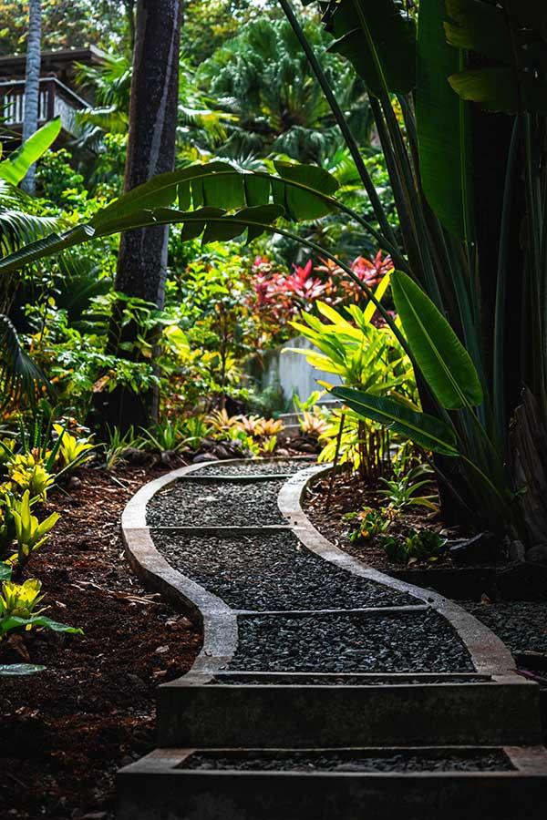 Garten umbauen