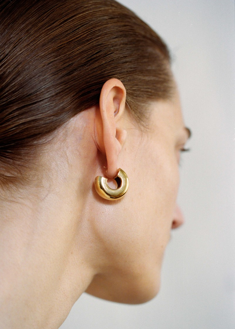 Tire earrings