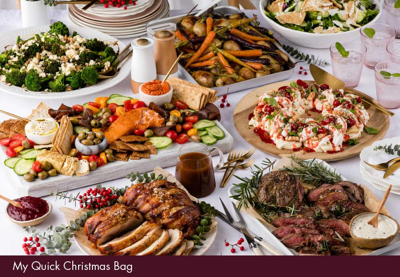 Christmas Meal.Christmas My Food Bag