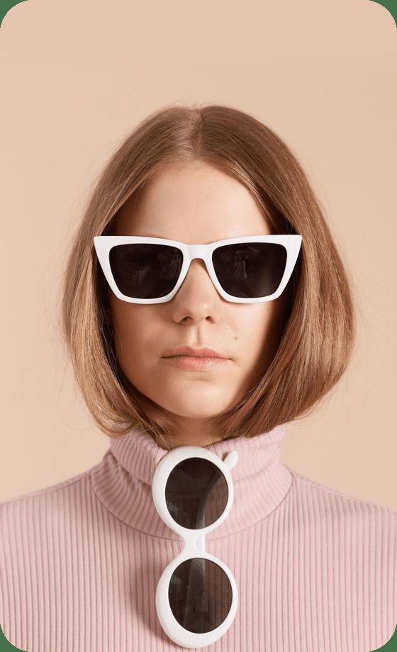 Imagem de um Pin sendo criado contendo uma foto de uma pessoa usando óculos escuros