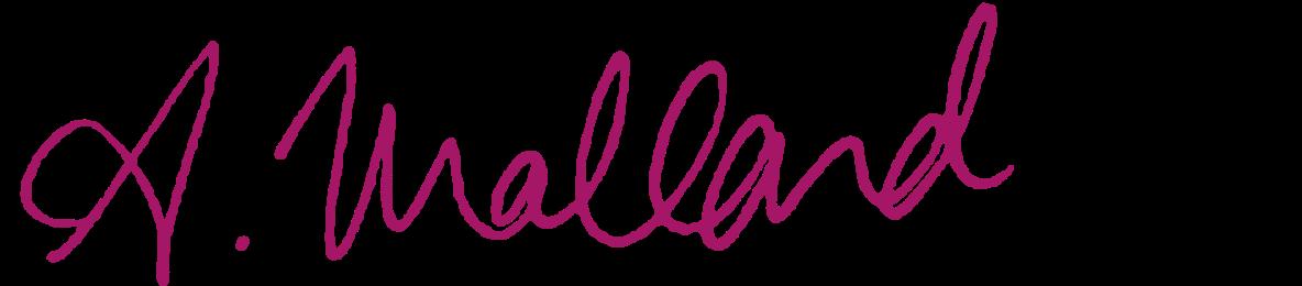Andréa Mallard signature