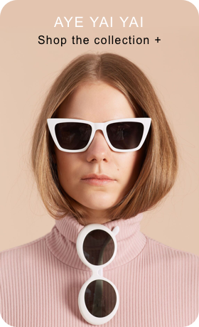 Image of a Pin being created containing a photo of person wearing sunglasses with more text