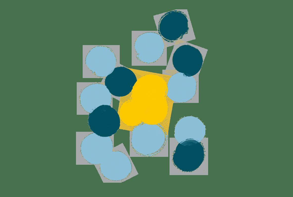 Polka dot illustration