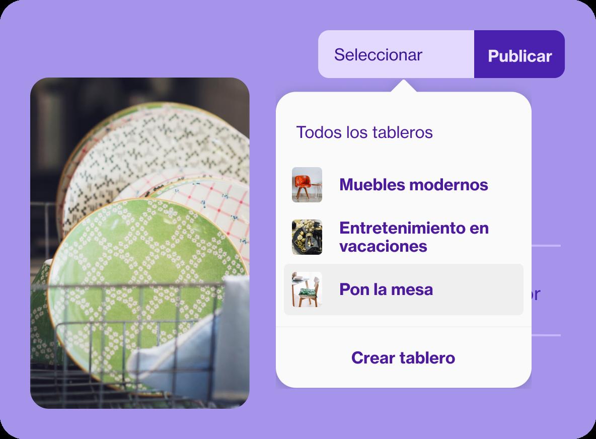 Interfaz de usuario para diseñar Pines
