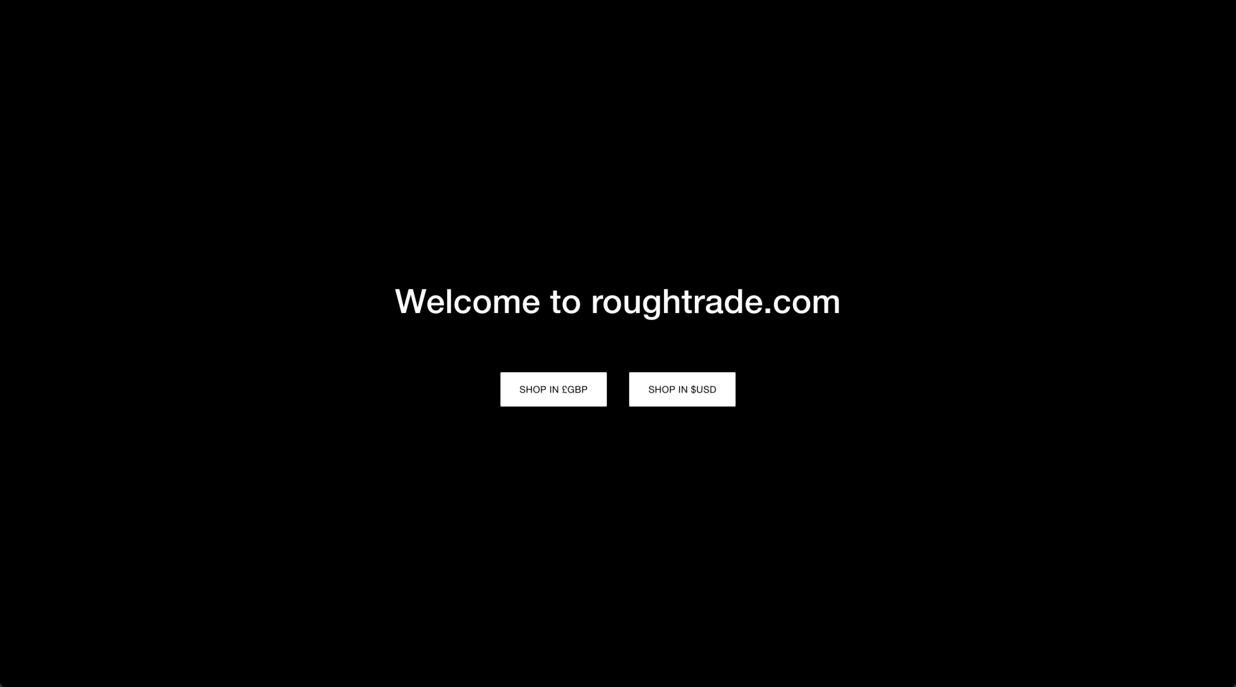 Rough Trade — Choose Region