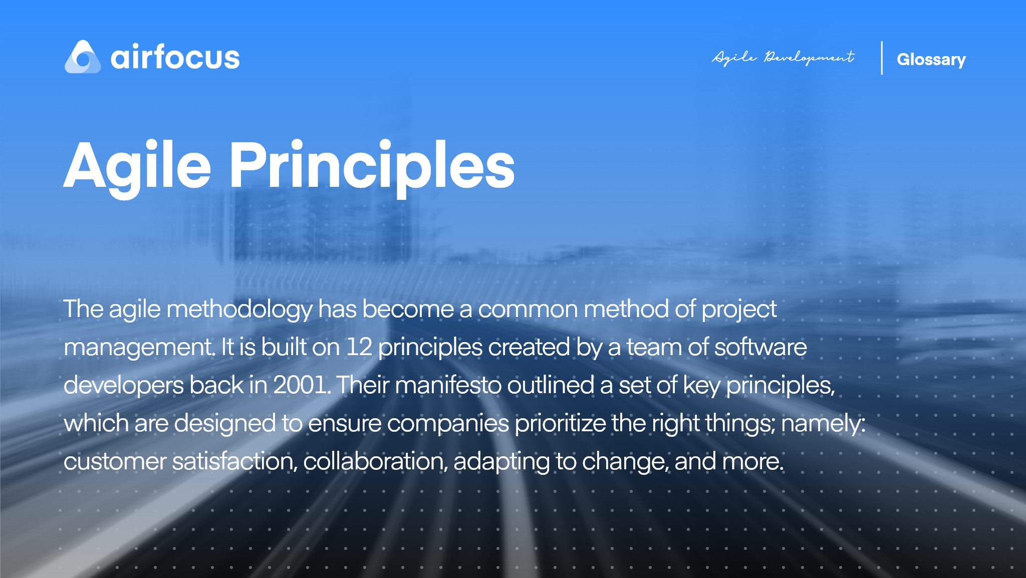 What Are Agile Principles