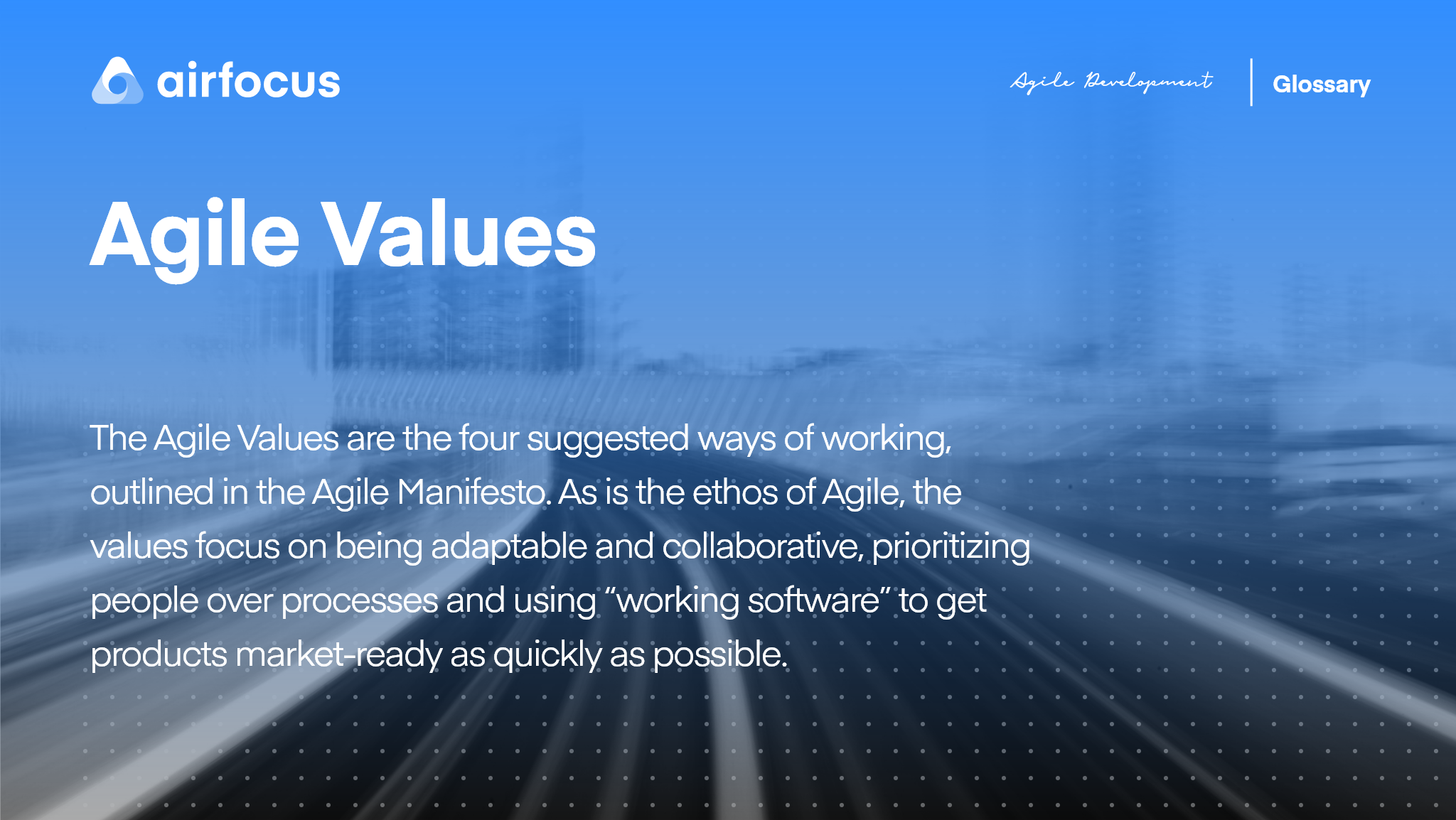 What Are Agile Values