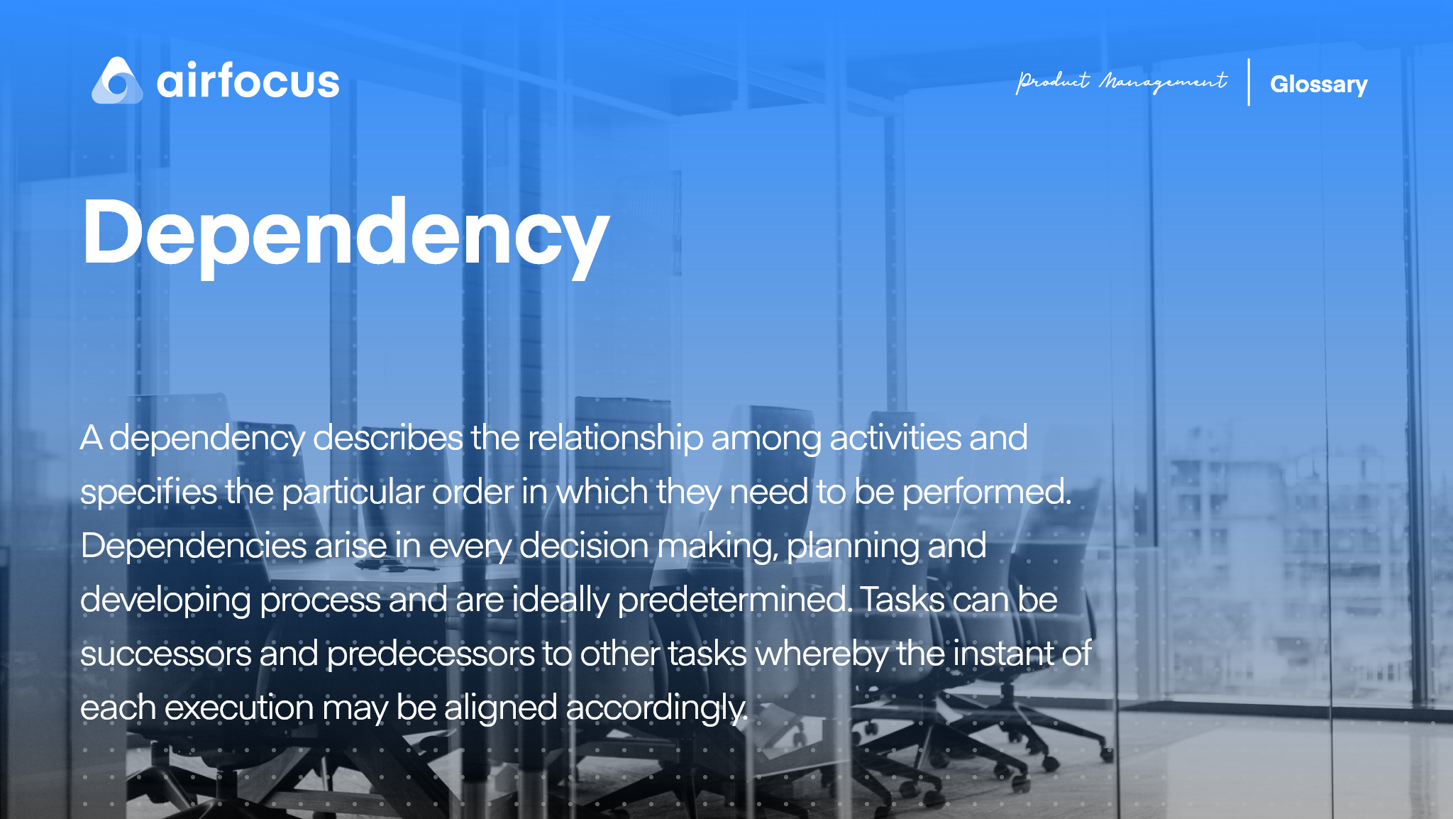 What is a Dependency