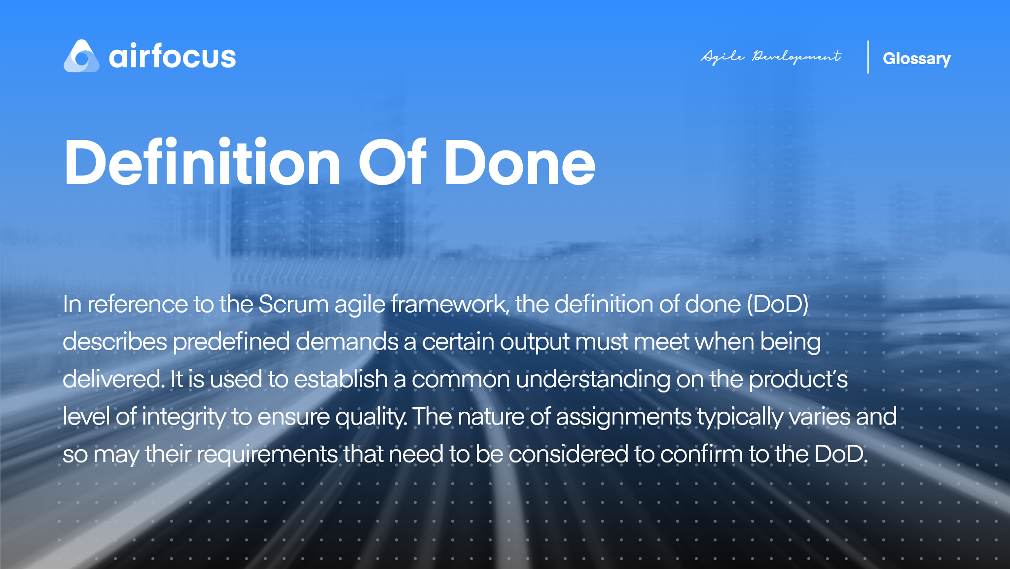 What Is the Definition of Done In the Scrum Agile Framework