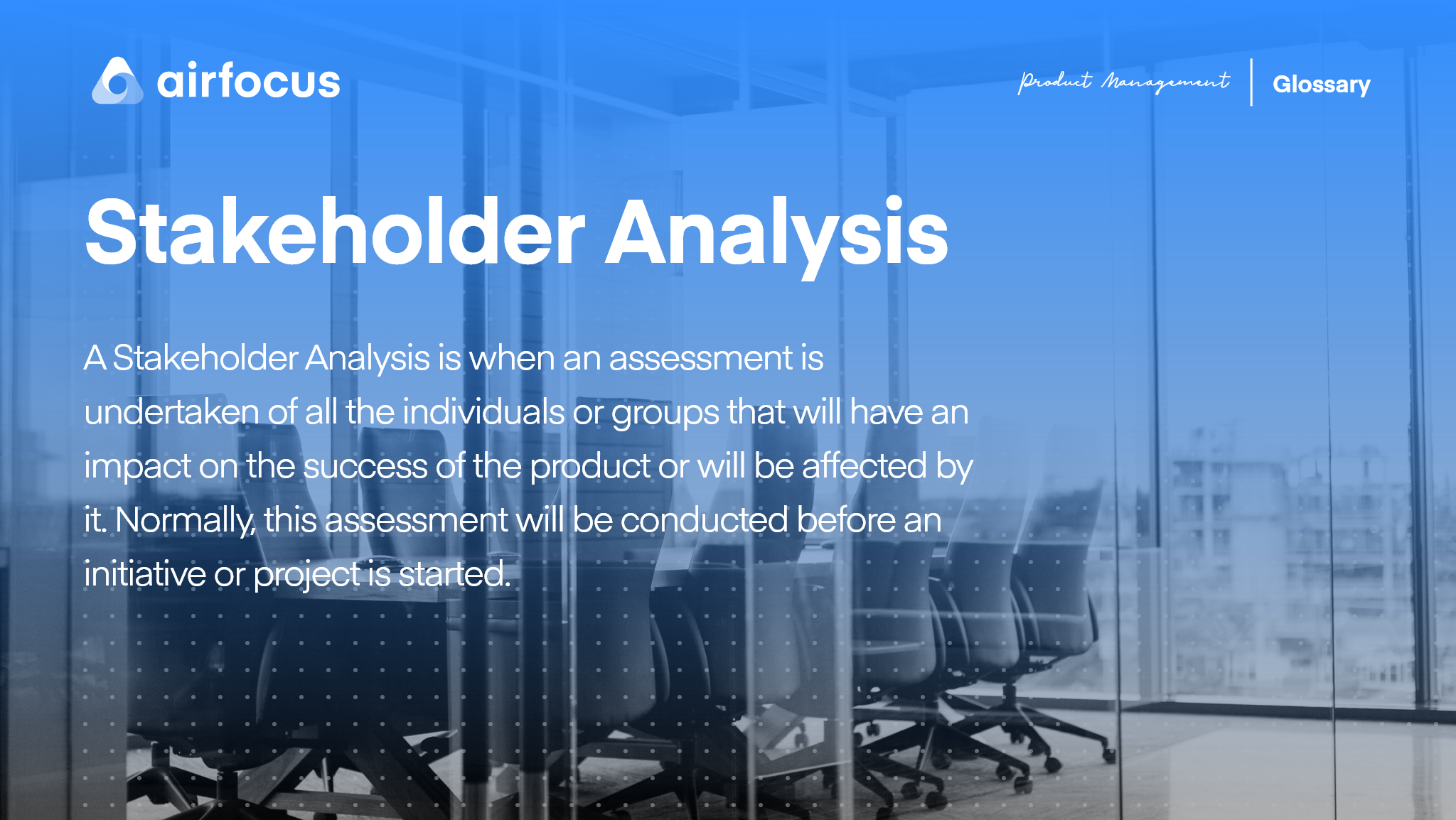 What is Stakeholder Analysis?