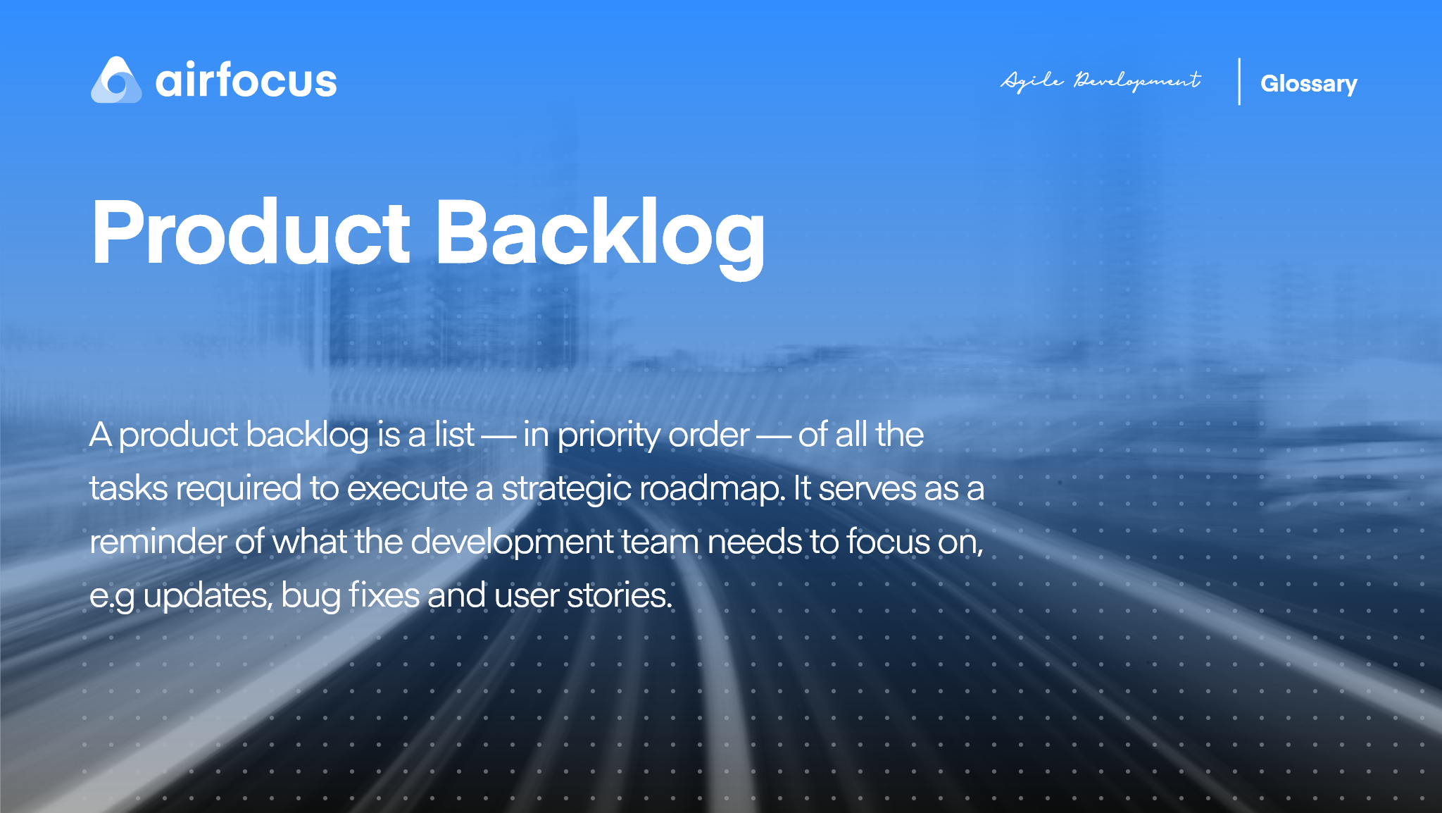 What Is A Product Backlog