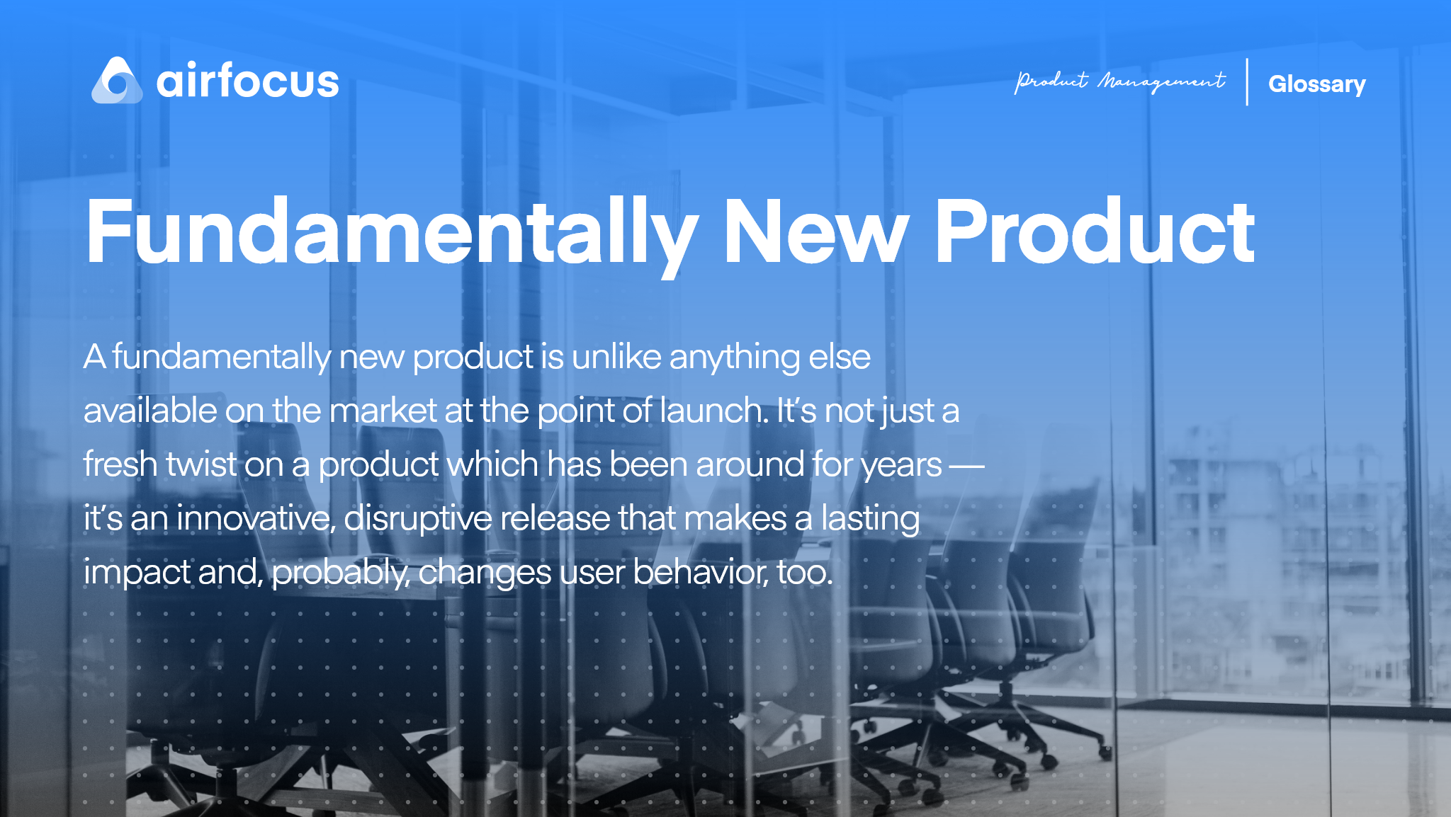 What Is A Fundamentally New Product?