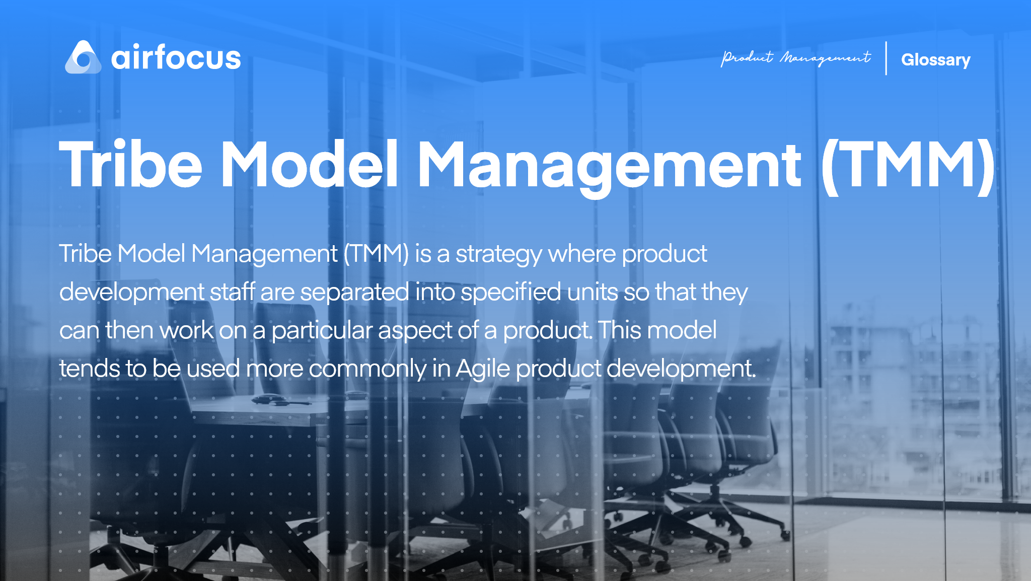 What is Tribe Model Management (TMM)?