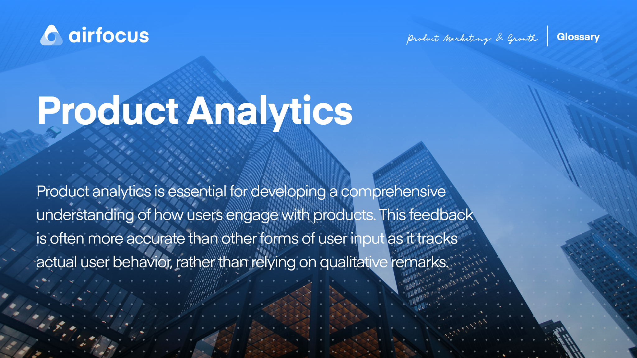 What Is Product Analytics
