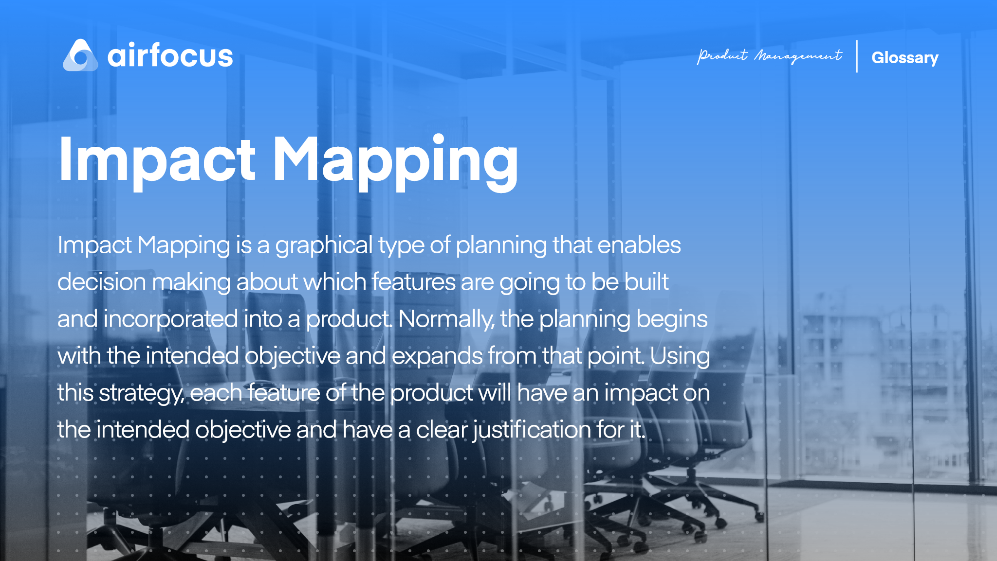 What is Impact Mapping?
