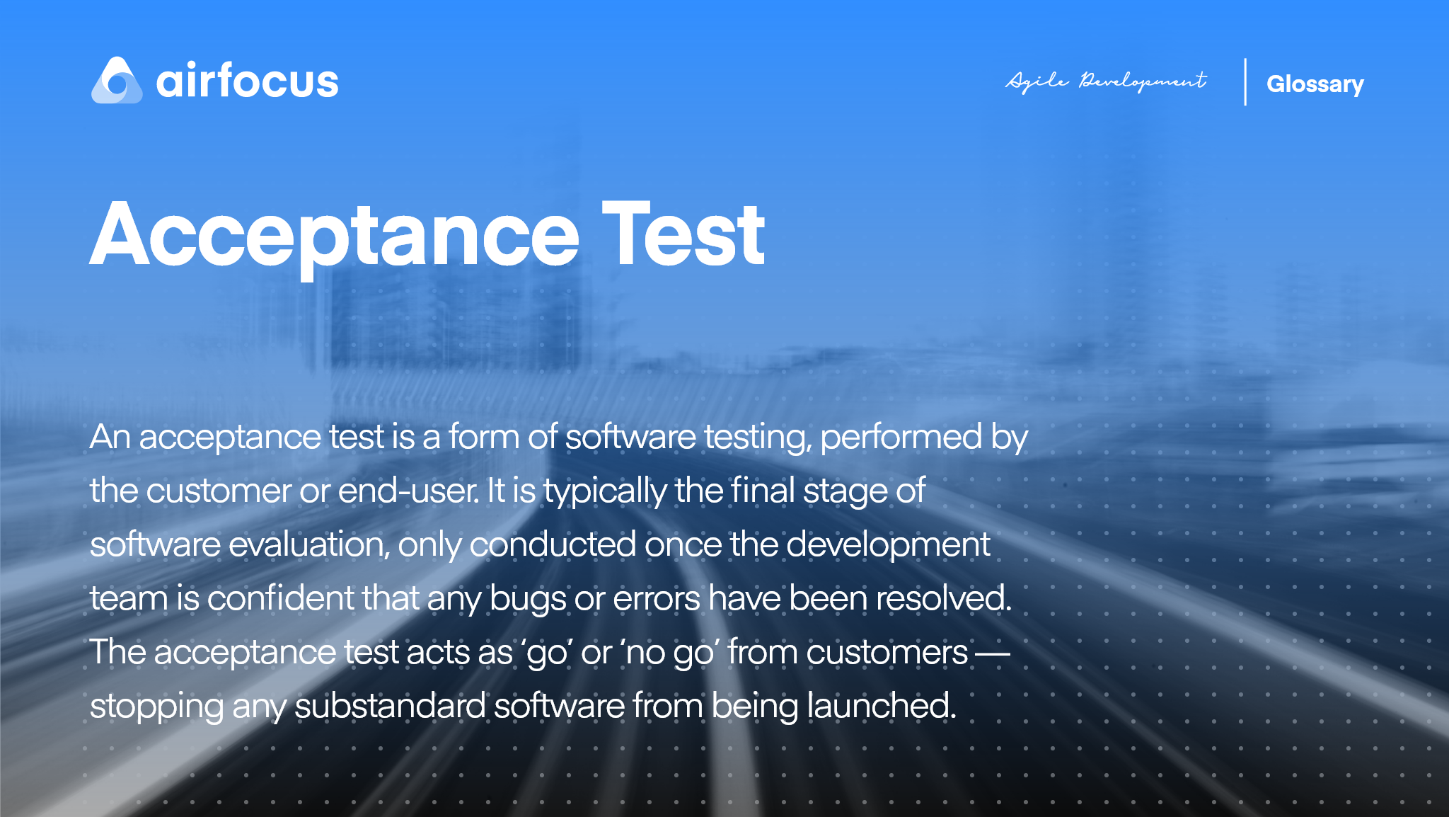 What Is An Acceptance Test