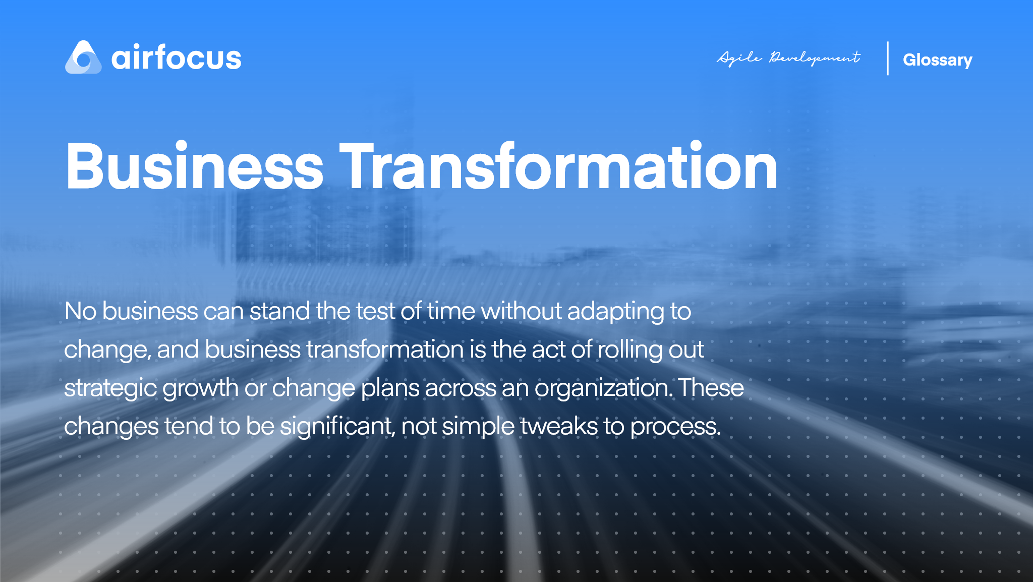 What Is Business Transformation