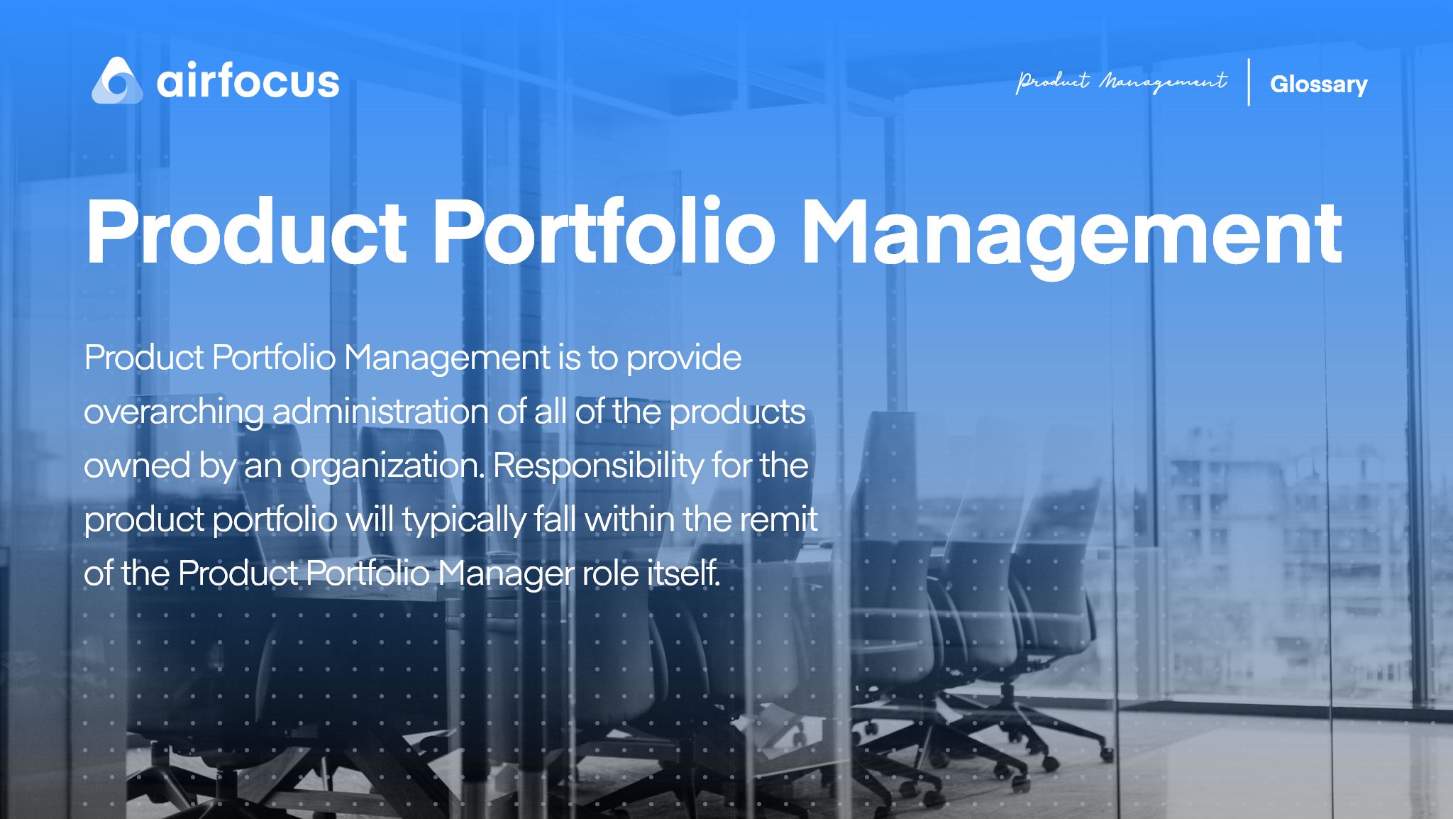 What is Product Portfolio Management?
