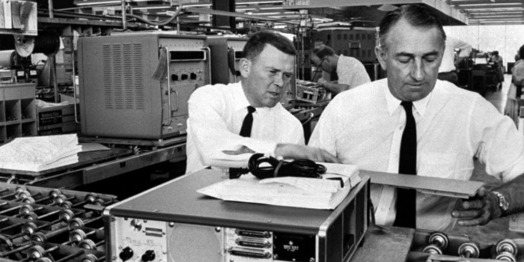 Bill Hewlett and Dave Packard, courtesy of Jon Brenneis/The LIFE Images Collection