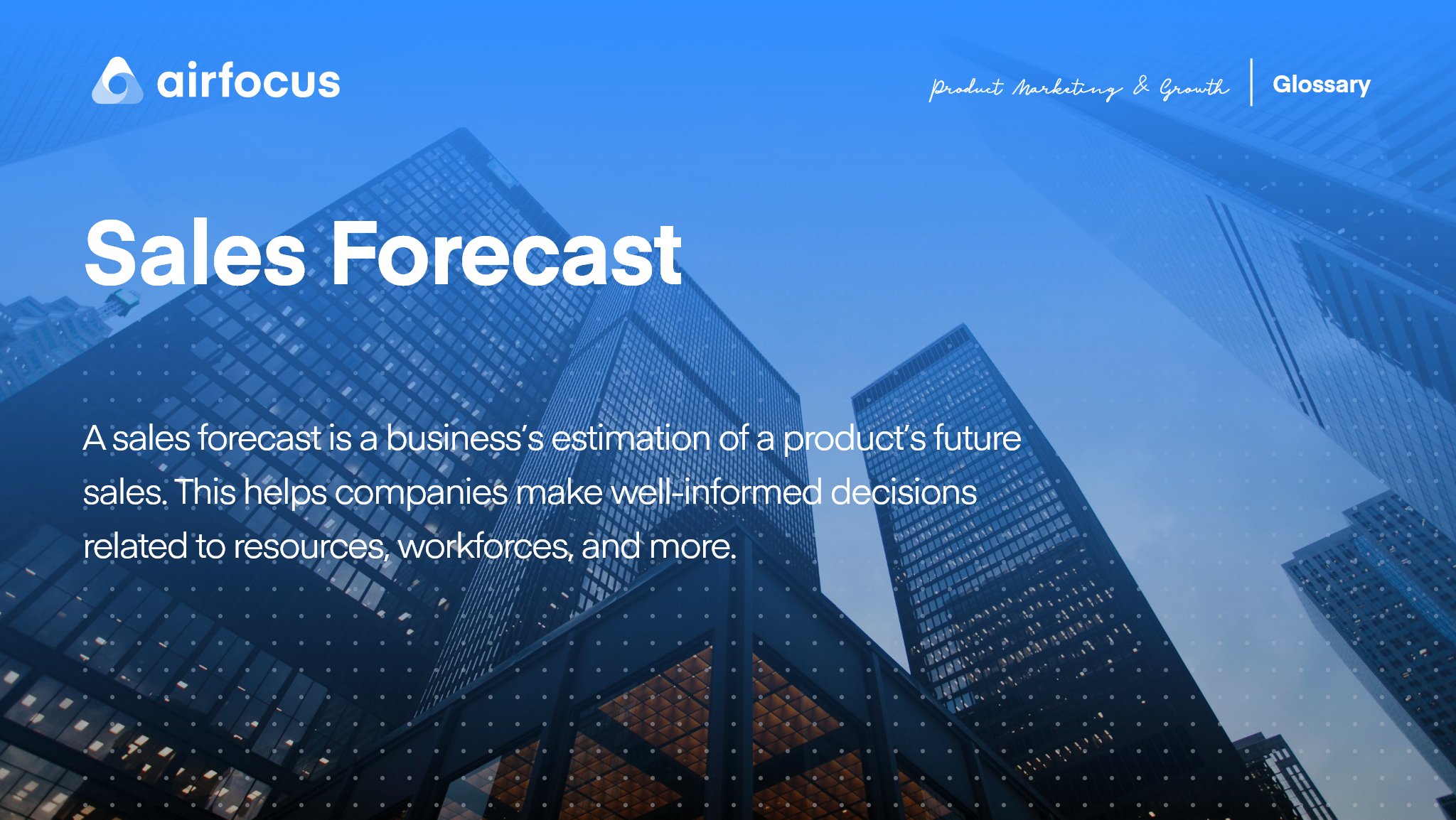 What is a Sales Forecast