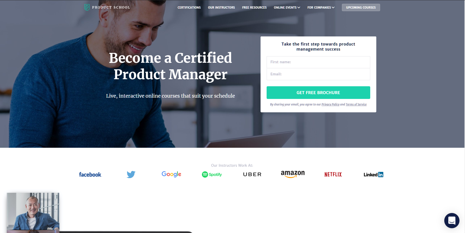 product school certification