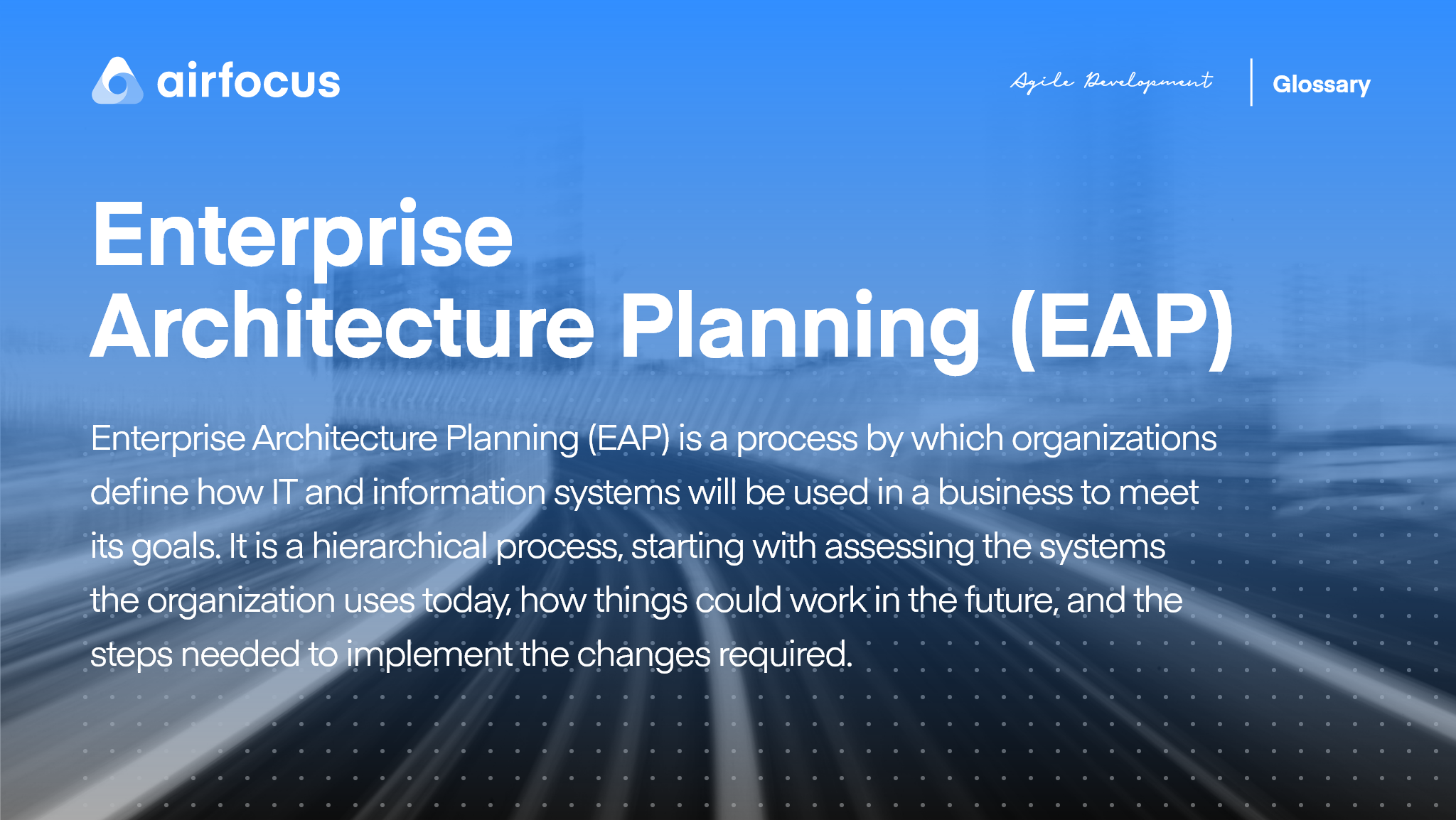 What Is Enterprise Architecture Planning
