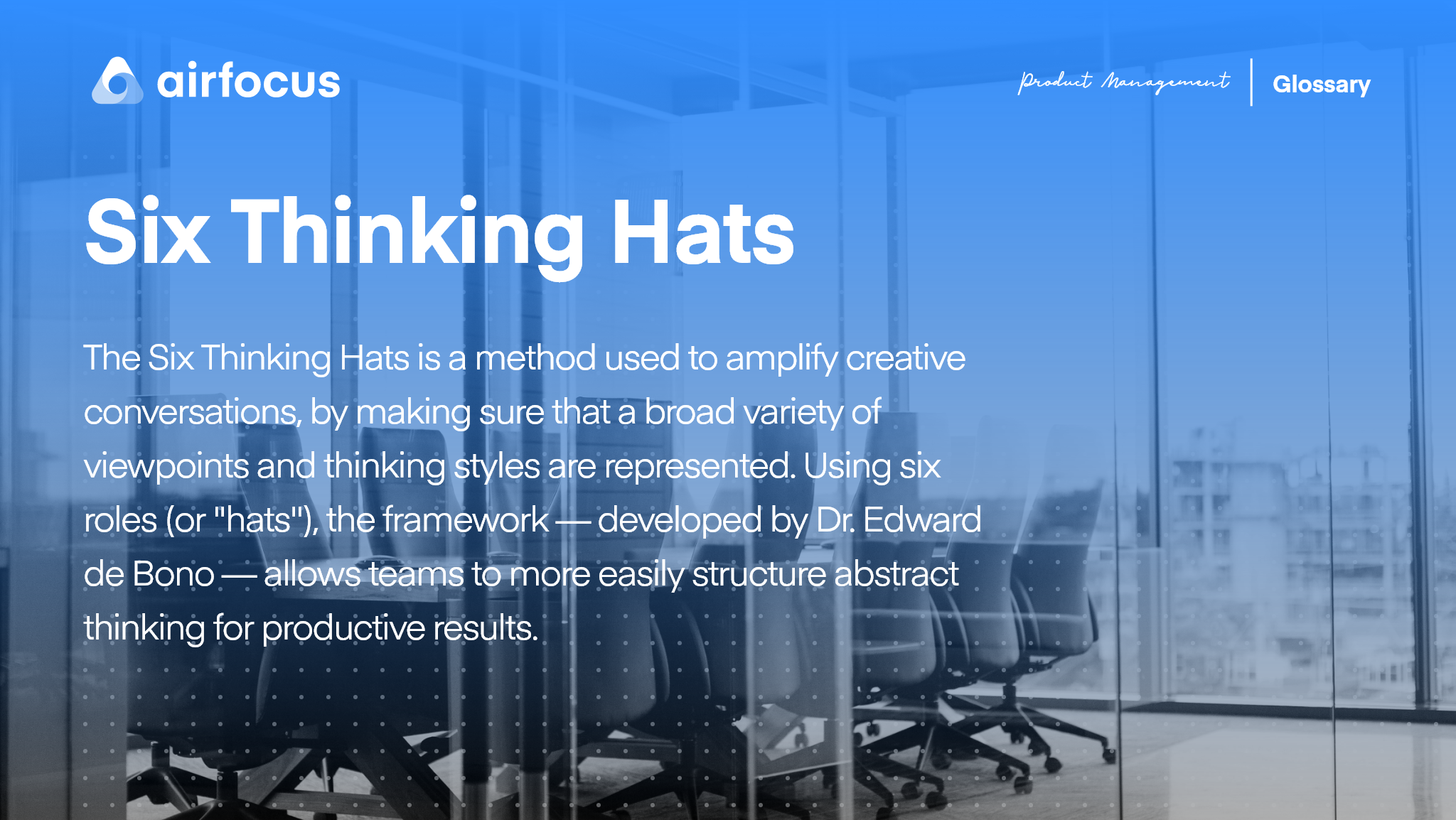 What Are The Six Thinking Hats?