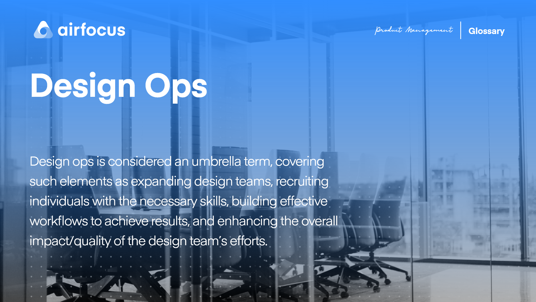 What Is Design Ops