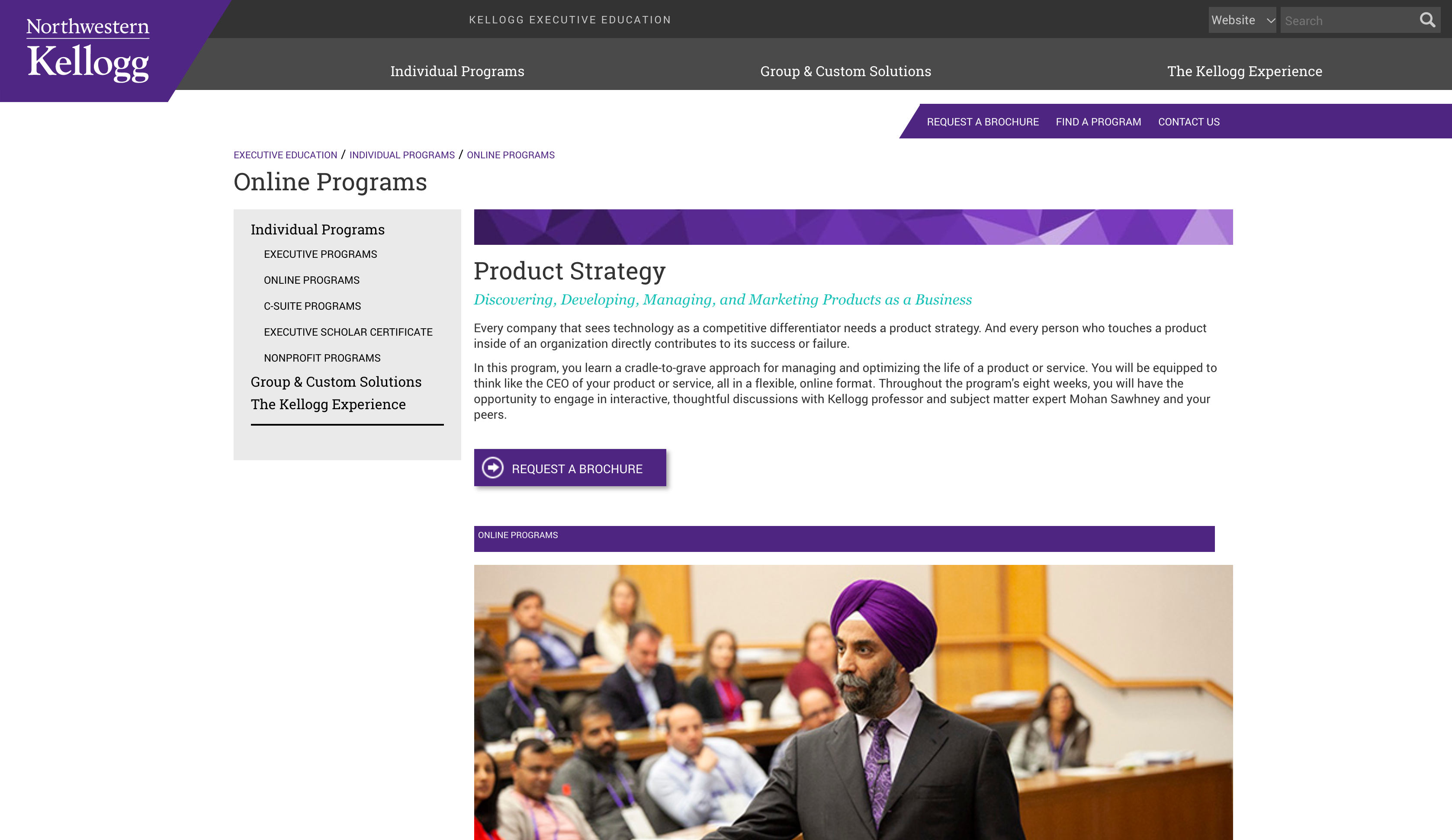 Product Strategy (Northwestern Kellogg School of Management)