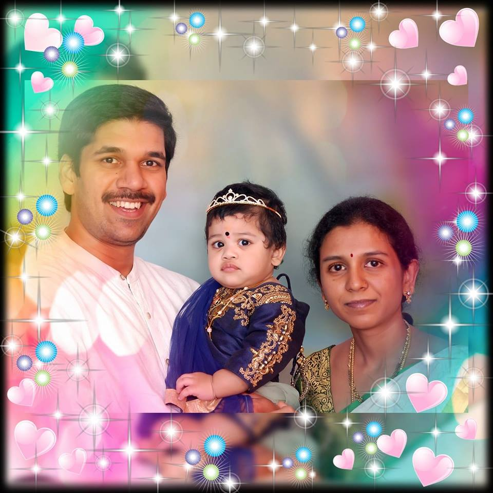 Lovely Ammu with me and Sowji